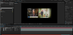 проект в Adobe After Effects